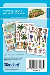 Adventure on Promise Island: Gigantic Decorating Stickers