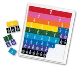 Rainbow Fraction Tiles with Tray