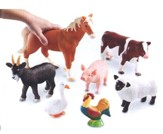 Jumbo Farm Animals, Set of 7
