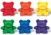 Baby Bear ™ Counters, 6 colors, Set of 102