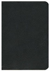 NLT Pitt Minion Reference Bible, Goatskin leather, black