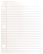 Magnetic Notebook Paper (Write & Wipe)