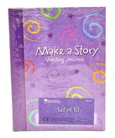 Make-a-Story Writing Journal, Set of 10