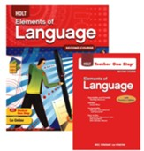 Holt Elements of Language Grade 8 Homeschool Package