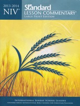 NIV Standard Lesson Commentary 2013-14, Large Print Edition