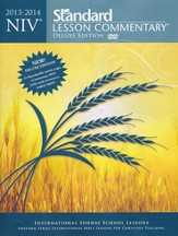 NIV Standard Lesson Commentary 2013-14, Deluxe Edition with eCommentary