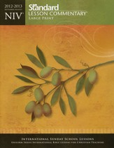 NIV Standard Lesson Commentary Large Print Edition 2012-2013