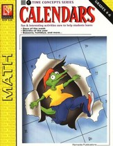 Time Concepts Series: Calendars, Grades 4-6