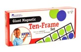 Giant Magnetic Ten-Frame Set (4 Frames, 40 Pieces)