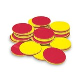 Yellow & Red Counters, Set of 200