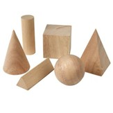 Basic Geometric Solids, Set of 6