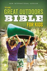 NIV, The Great Outdoors Bible for Kids, Blue - Slightly Imperfect