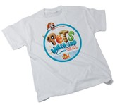 Pets Unleashed Adult Theme T-shirt, Small