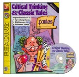 Critical Thinking & Classic Fables, Book & CD