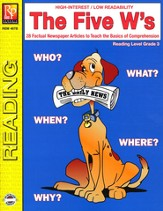 The Five W's Reading Level 3