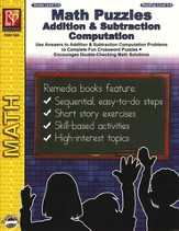 Addition & Subtraction Computation, Grade 3-6