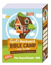 God's Backyard Bible Camp - Under the Sun VBS: SuperSimple VBS Kit - Slightly Imperfect