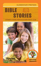 Under the Sun Bible Stories Leader's Guide -  Elementary/Preteen