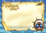 VBS 2014 SonTreasure Island- Name Tags: 50 Pack