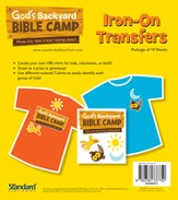 Under the Sun/Under the Stars VBS: Iron ons - Slightly Imperfect