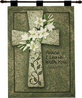 Peace I Leave With You Wallhanging