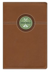 The Great Outdoors Bible for Kids, NIV, Italian Duo-Tone, Bark Brown