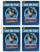 Under the Stars VBS: Invitation Postcards