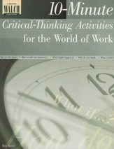 10-minute Critical Thinking Activities for the World of Work