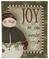 Joy To the World, LED, Snowman Sign