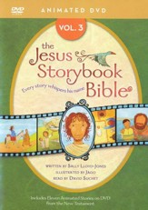Jesus Storybook Bible Animated DVD, Vol. 3 - Slightly Imperfect