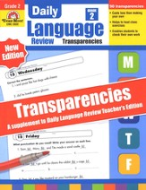 Daily Language Review Transparencies Grade 2