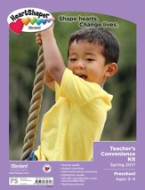 HeartShaper: Preschool Teacher's Convenience Kit, Spring 2016