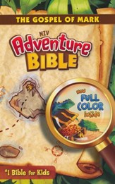 NIV Adventure Bible: The Gospel of Mark, Blue - Slightly Imperfect