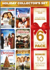6-Film Holiday Collector's Set, Volume 3 with Bonus Audio: Home for the Holidays