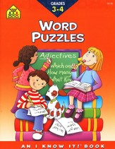 Vocabulary Puzzles, Grades 3-4