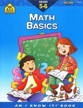Math Basics, Grades 5 & 6, An I Know It! Book