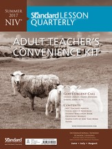 Standard Lesson Quarterly: NIV® Adult Teacher's  Convenience Kit, Summer 2016