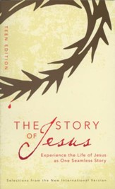 The Story of Jesus: Teen Edition, Blue - Slightly Imperfect