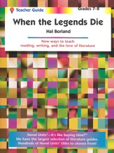 When the Legends Die, Novel Units Teacher's Guide, Grades 7-8