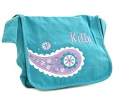 Personalized, Girls Messenger Bag, Medium, Teal