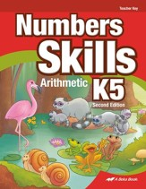 Number Skills K5 Arithmetic Teacher Key