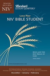 NIV ® Bible Student Large Print, Winter 2014-15