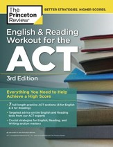 English and Reading Workout for the ACT, 3rd Edition - eBook