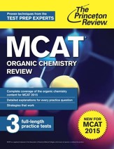 MCAT Organic Chemistry Review: New for MCAT 2015 - eBook