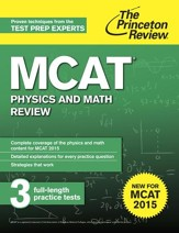 MCAT Physics and Math Review: New for MCAT 2015 - eBook