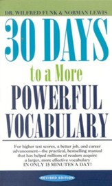 30 Days to a More Powerful Vocabulary, Revised