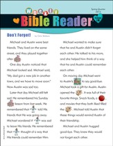 Weekly Bible Reader ®, Spring 2014