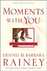 Moments with You: 365 All-New Devotions for Couples - Slightly Imperfect