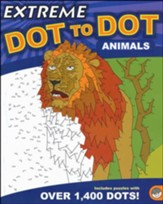 Animals Extreme Dot to Dot Book