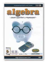 Light Speed Algebra: Linear Equations and Polynomials DVD